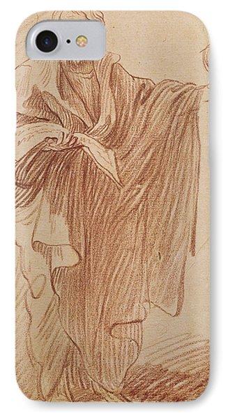 Saint John The Evangelist IPhone Case by Edme Bouchardon