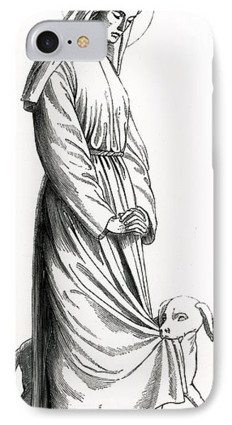 Saint Margaret Of Cortona IPhone Case