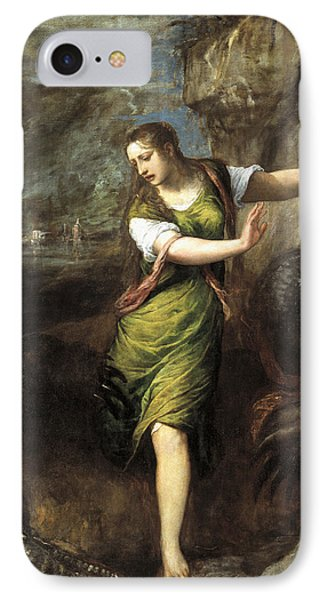 Saint Margaret  IPhone Case by Titian