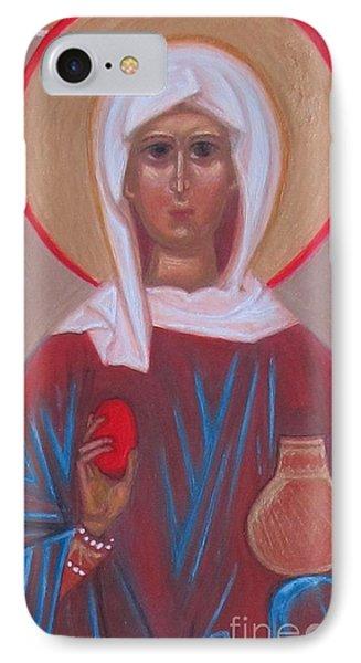 Saint Mary Magdalene  IPhone Case by Seija Talolahti