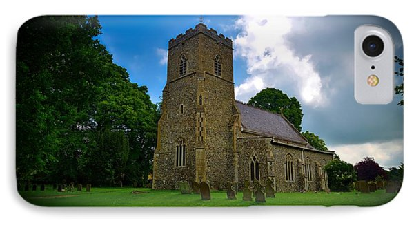 Saint Mary's Church IPhone Case by Barry Marsh