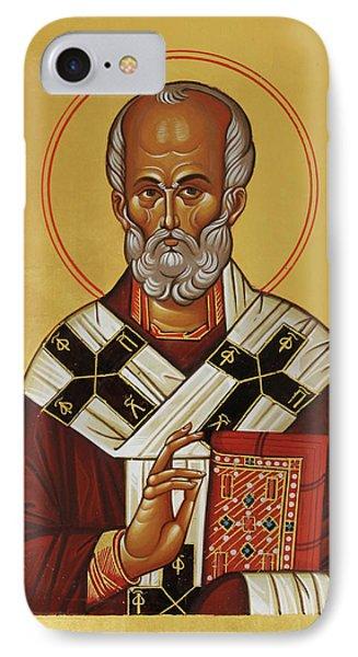 Saint Nicholas IPhone Case by Alyona Pastuhova
