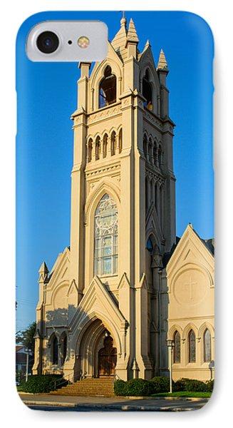 Saint Patrick Catholic Church Of Galveston IPhone Case by Tikvah's Hope
