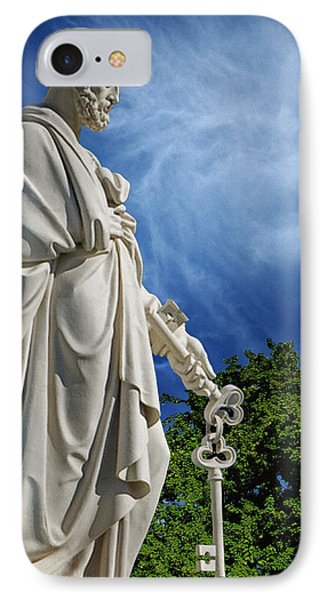 Saint Peter With Keys To Heaven IPhone Case