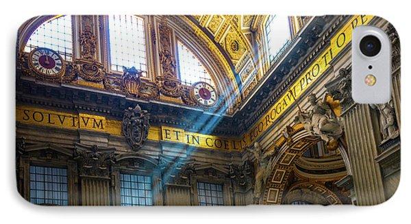 Saint Peter's Beams Of Light IPhone Case