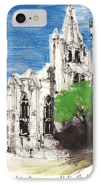 Saint Pierre Avignon Provence IPhone Case by Martin Stankewitz