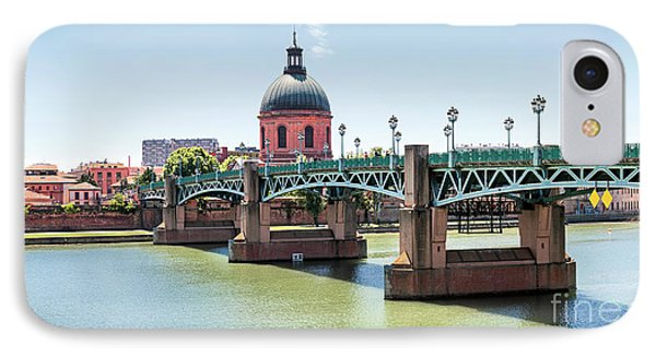 IPhone Case featuring the photograph Saint-pierre Bridge In Toulouse by Elena Elisseeva