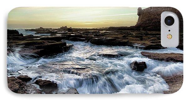 IPhone Case featuring the photograph Saint Sebastian Castle Cadiz Spain by Pablo Avanzini