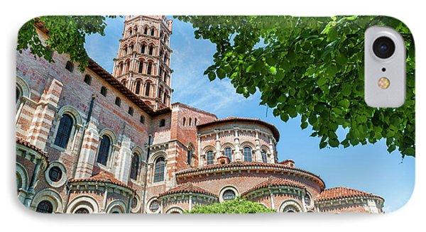 Saint Sernin Basilica IPhone Case