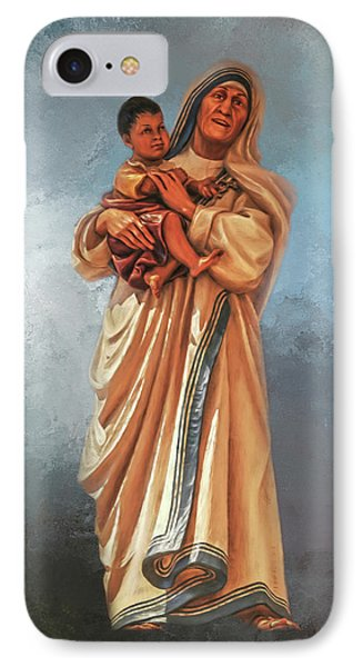 IPhone Case featuring the photograph Saint Teresa Of Calcutta by Donna Kennedy