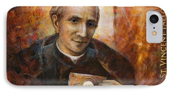 Saint Vincent Pallotti IPhone Case by Terezia Sedlakova Wutzay