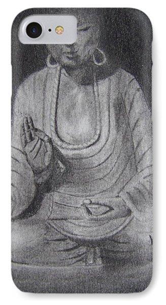 Sakyamuni IPhone Case by Nick Young