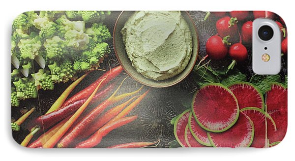 IPhone Case featuring the photograph Salad Legume Vegetables Healthy Food Cuisine Chef Kitchen Christmas Holidays Birthday Mom Dad Sister by Navin Joshi