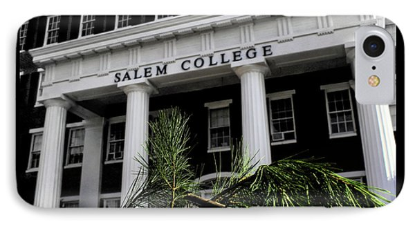 IPhone Case featuring the photograph Salem College by Jessica Brawley