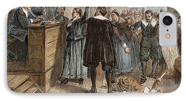 Salem Witch Trials, 1692 Phone Case by Granger