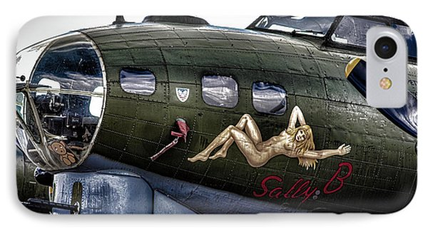 Sally B IPhone Case by Martin Newman
