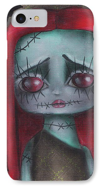 Sally Girl IPhone Case by Abril Andrade Griffith
