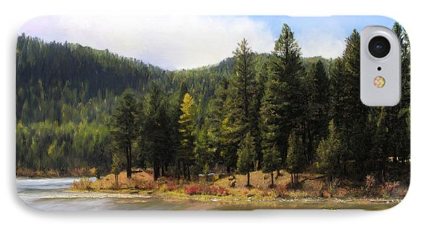 Salmon Lake Montana IPhone Case by Susan Kinney