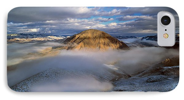 Salmon River Mountains IPhone Case by Leland D Howard