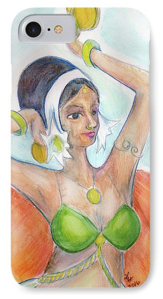 Salome IPhone Case by Loretta Nash