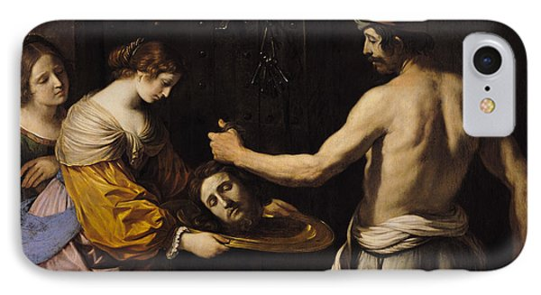 Salome Receiving The Head Of St John The Baptist IPhone Case