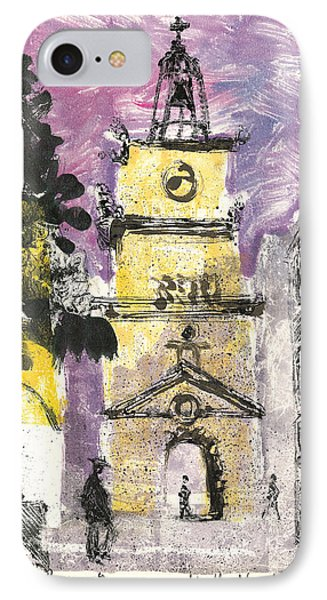 Salon De Provence IPhone Case by Martin Stankewitz