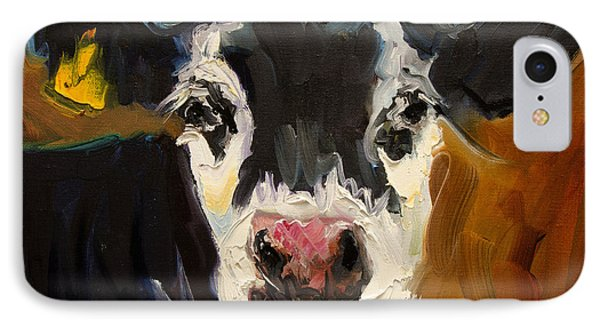 Salt And Pepper Cow IPhone Case