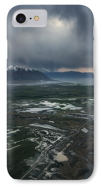 IPhone Case featuring the photograph Salt Lake Drama by Ryan Manuel