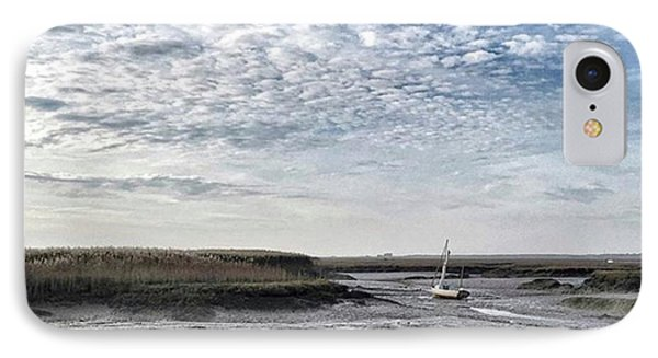 Salt Marsh And Creek, Brancaster IPhone Case by John Edwards
