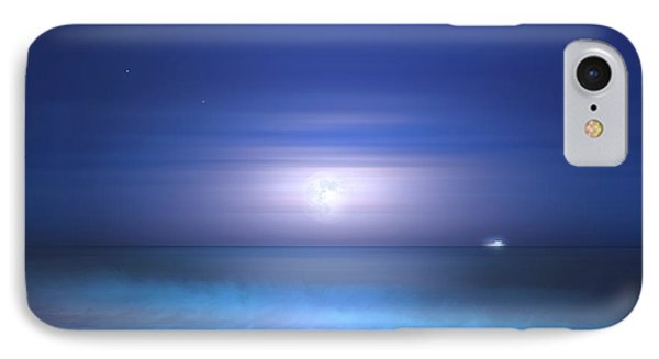 IPhone Case featuring the photograph Salt Moon by Mark Andrew Thomas