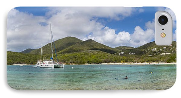 Salt Pond Bay Panoramic IPhone Case
