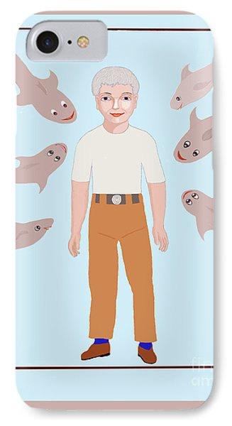 Salt Water Friends Phone Case by Fred Jinkins
