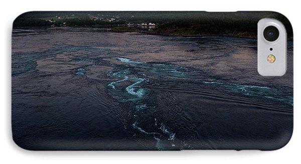 Saltstraumen, Magic Power Stream IPhone Case by Tamara Sushko