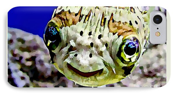 Saltwater Porcupinefish IPhone Case