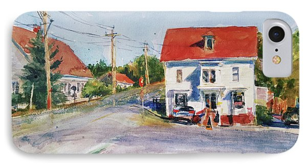 Salty Market, North Truro Phone Case by Peter Salwen