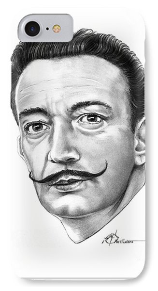 Salvador Dali Phone Case by Murphy Elliott
