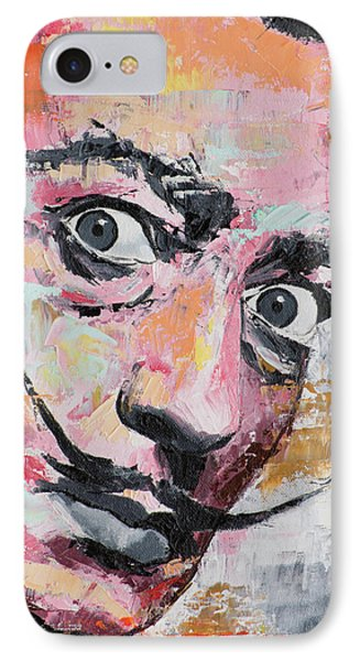 Salvador Dali IPhone Case by Richard Day