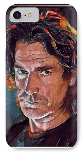 Sam Elliott Color Illustration IPhone Case