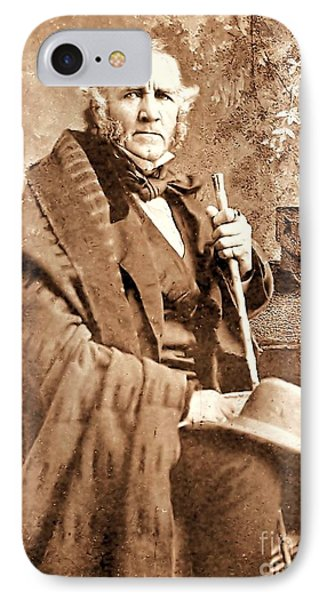 Sam Houston Phone Case by Pg Reproductions