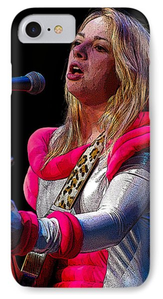 IPhone Case featuring the photograph Samantha Fish by Jim Mathis