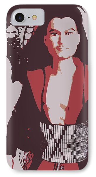 Samarai Ken IPhone Case by Karen J Shine