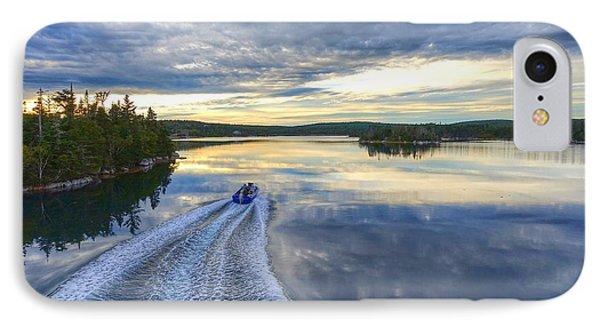 Sambro Basin II Nova Scotia IPhone Case by Heather Vopni