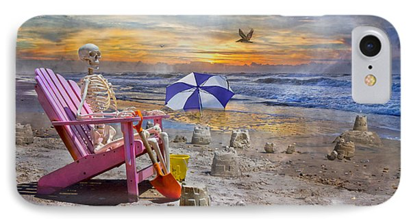 Sam's  Sandcastles IPhone 7 Case by Betsy Knapp
