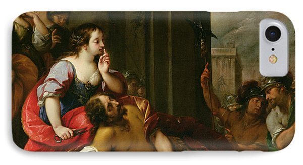 Samson And Delilah Phone Case by Giuseppe Nuvolone