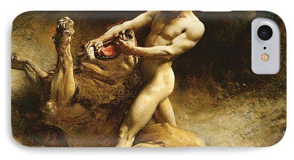 Samson's Youth IPhone 7 Case by Leon Joseph Florentin Bonnat