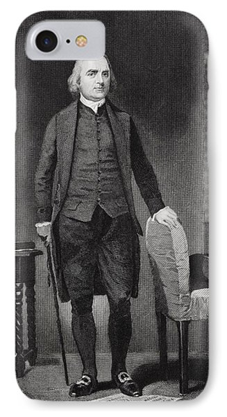 Samuel Adams 1722-1803. American IPhone Case