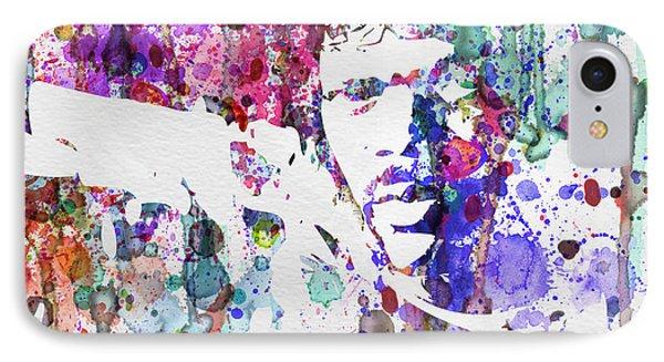 Samuel L Jackson Pulp Fiction Phone Case by Naxart Studio