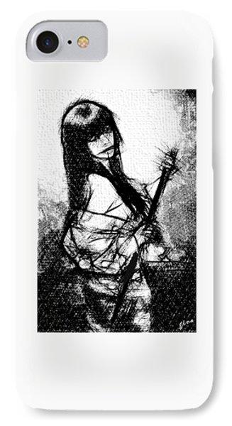 Samurai Affair IPhone Case by Gin Sey