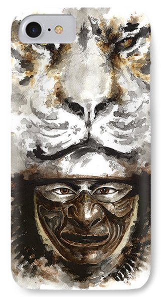 Samurai - Warrior Soul. IPhone Case by Mariusz Szmerdt