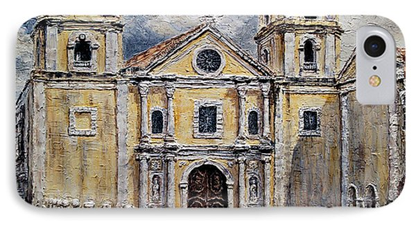San Agustin Church 1800s IPhone Case